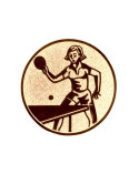 podkład blachy z nadrukiem - brązowy